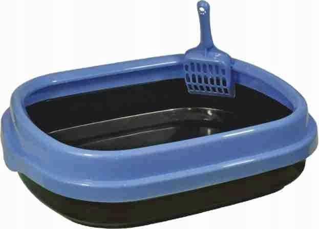 Kuweta Polly Happet plastikowa niebieska - 1 zdjęcie