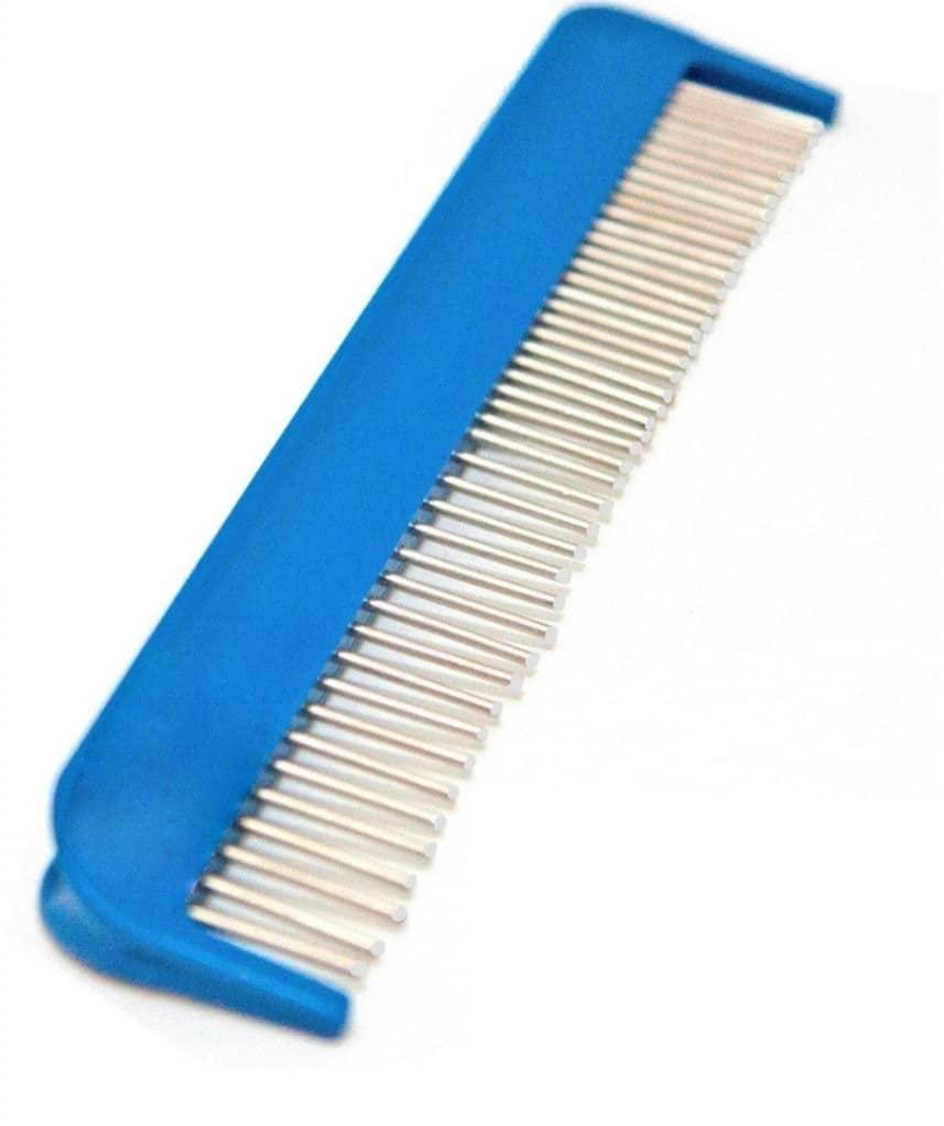 Lessie-Land Obrotowy grzebień z mieszanym rozstawem ząbków zakończonych kulką - 1 zdjęcie