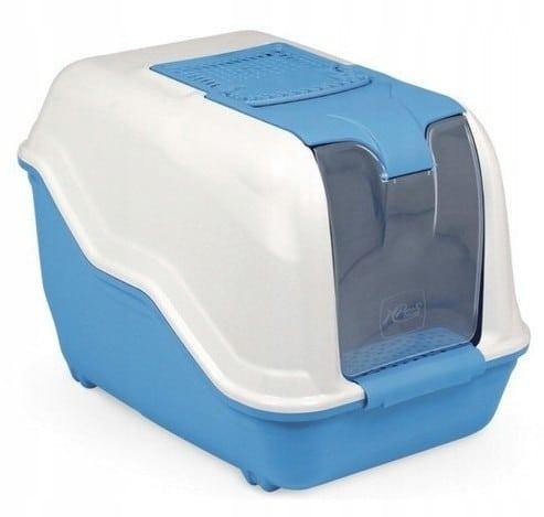 MPS Toaleta Netta Maxi biało-niebieska 66x50x47cm - 1 zdjęcie