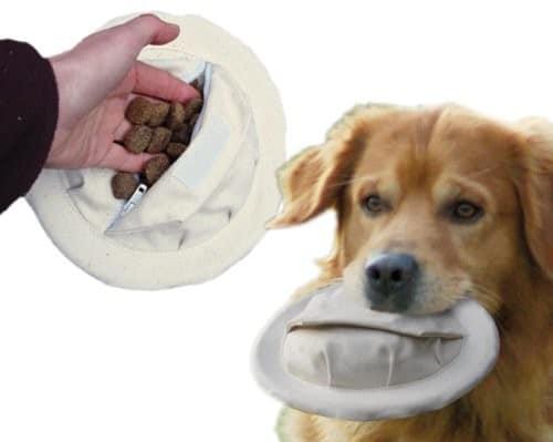 Nobby flybee Frisbee dla psa do napełniania,  20 cm - 1 zdjęcie