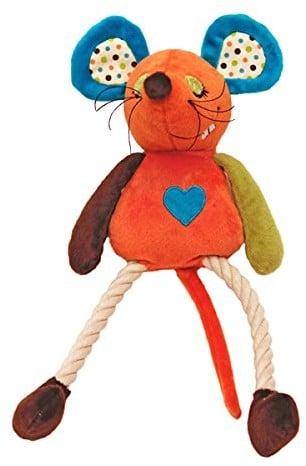 """Rosewood 39020Rosewood psy do zabawy z pluszu z wbudowanym, Rosa """"mysz millie"""" - 1 zdjęcie"""