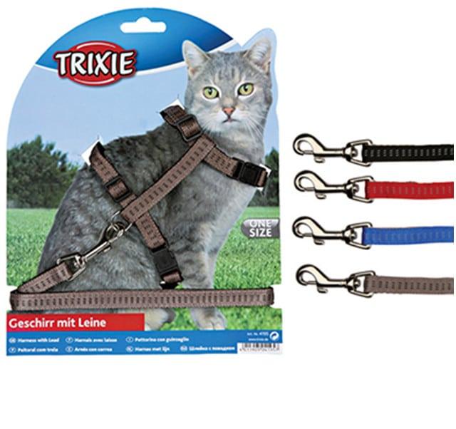 Trixie Szelki dla kota nylonowe 4195 - 1 zdjęcie