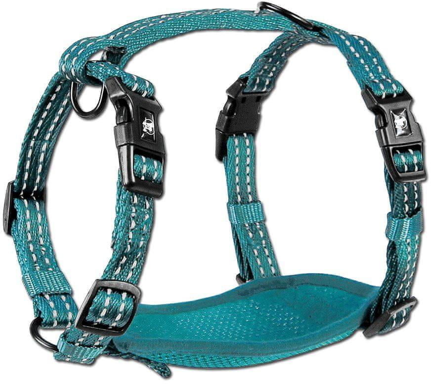 Alcott Alcott Szelki odblaskowe dla psów niebieskie M # z wartością produktów powyżej 89zł! - 1 zdjęcie