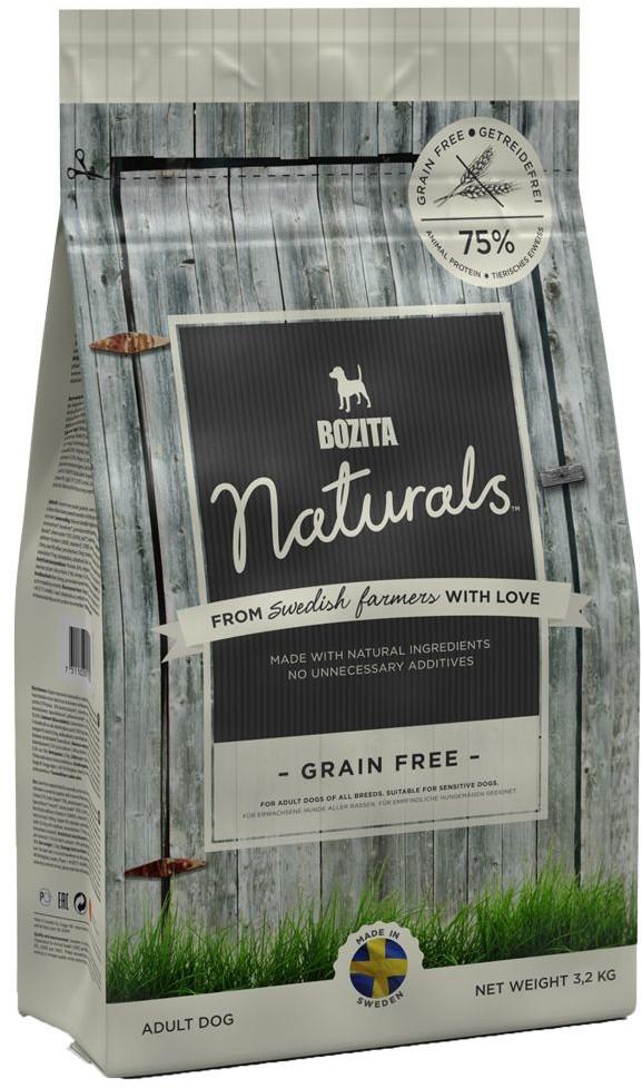 Bozita Naturals Grain Free 3,2 kg - 1 zdjęcie