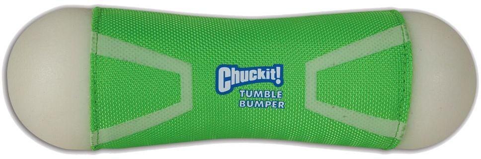 Chuckit! Tumble Bumper Max Glow zabawka dla psa Dł x szer x wys. 22 x 8 x 8 cm - 1 zdjęcie