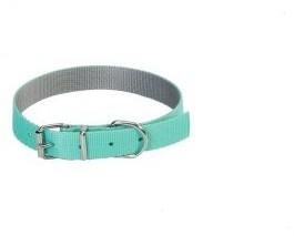 Dingo Obroża Energy Silver 55x2,5cm MIĘTOWA - 1 zdjęcie