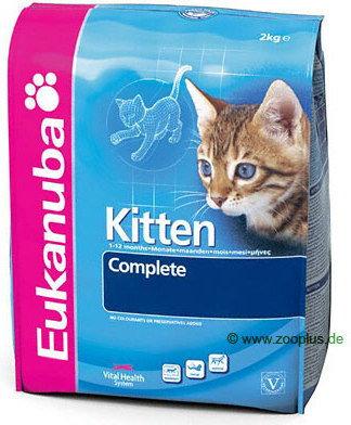 Eukanuba Kitten Chicken&Liver 4 kg - 1 zdjęcie