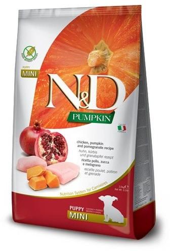 Farmina N&D Pumpkin Dog Puppy Mini chicken & pomegranate 0,8 kg - 1 zdjęcie