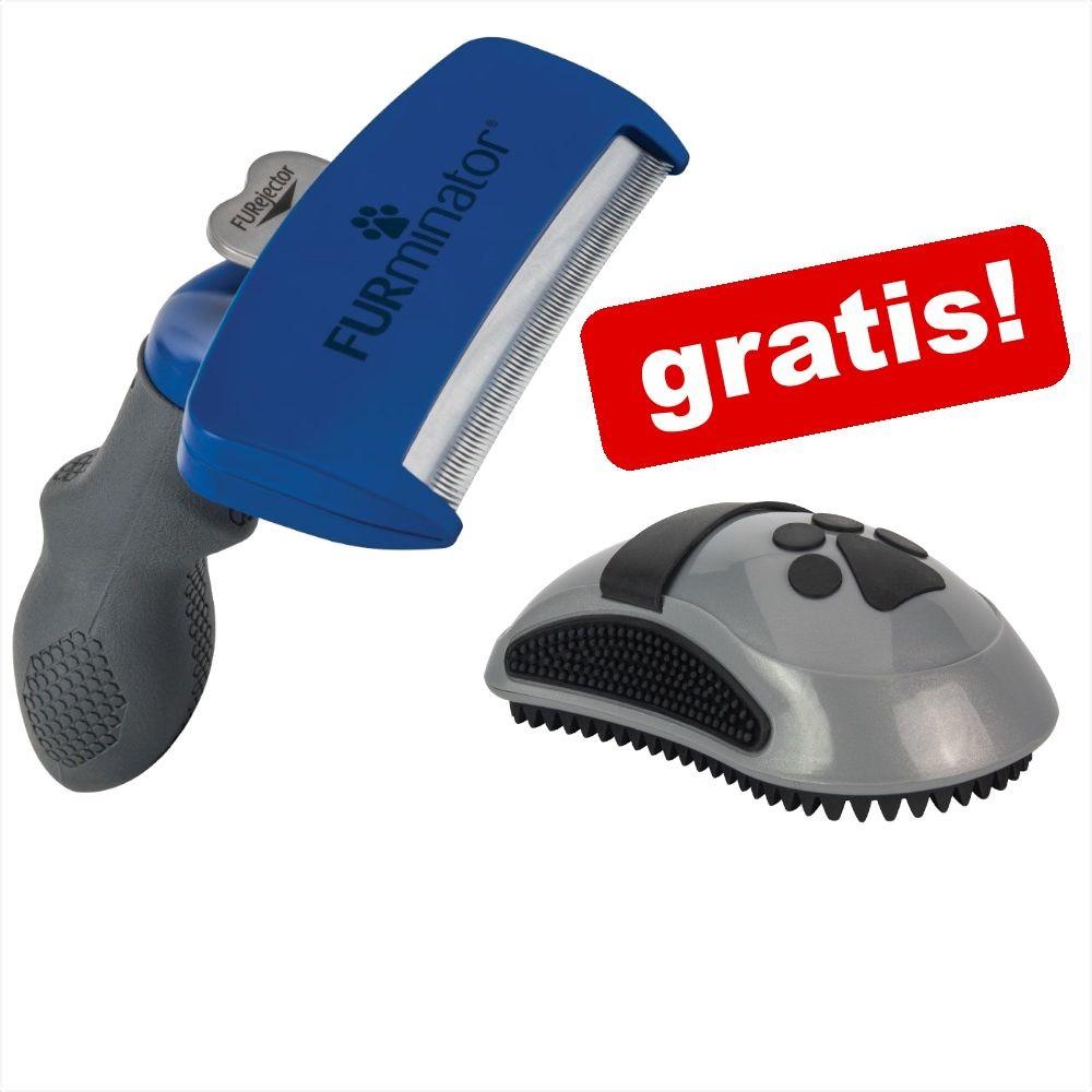 FURminator Dostawa GRATIS! | deShedding Tool do krótkiej sierści L - Szerokość grzebienia 9,6 cm - 1 zdjęcie