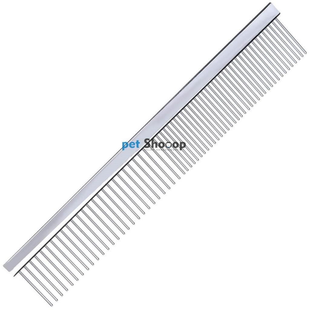 Groom Professional Grzebień metalowy 19cm - mieszany rozstaw ząbków 50/50 GP-850054 - 1 zdjęcie