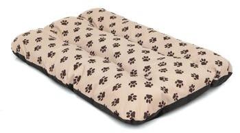 Hobbydog Materac Eco Prestige dla Psa beż w łapki R3 o wymiarach 115 cm x 80 cm R3 ECPBWL4 - 1 zdjęcie