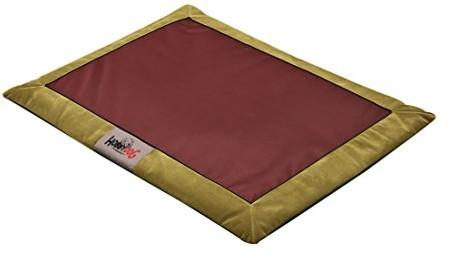 Hobbydog Matte atafzb6 hundematte łóżko dla psa Ruhe materac ilość miejsca dla psa Poduszka dla psa miejsce do spania (3 różnych rozmiarach, l, czerwony - 1 zdjęcie