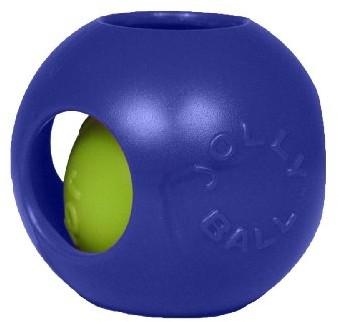 Jolly Pets joll040b psy do zabawyteaser ball, 10cm, niebieski 1504 BL - 1 zdjęcie
