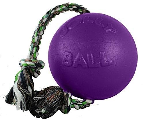 Jolly Pets romp-N-Roll ball, fioletowy - 1 zdjęcie