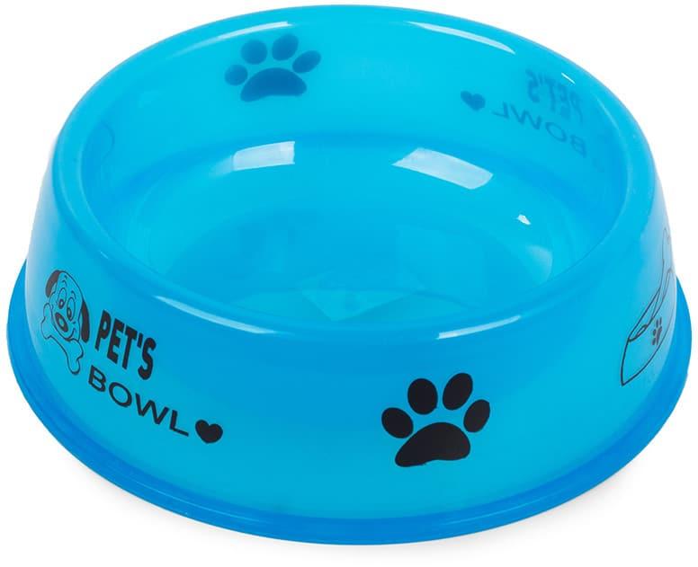 Miska Plastikowa Dla Psa Kota Na Kramę Wodę 0,4L - 1 zdjęcie