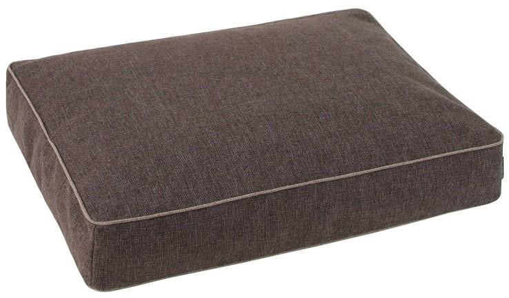 O´ lala Pets materac ortopedyczny Luxury 70x50 cm brązowy - 1 zdjęcie