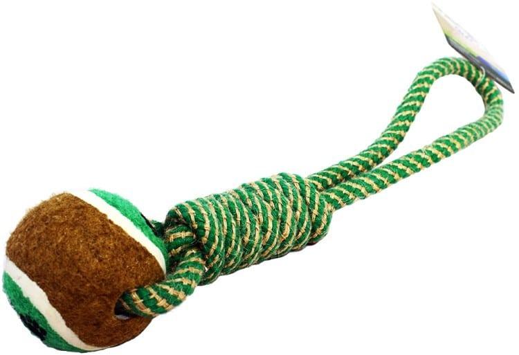 Zippy Biofeed Zippy Linka dla psa z piłką tenisową i uchwytem 33 cm - 1 zdjęcie